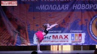"""""""Молодая Новороссия"""". Детский фитнес."""