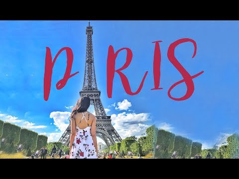 PARIS VLOG | EIFFEL TOWER | DISNEYLAND + GIVEAWAY