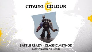 How to Paint: Deathwatch Kill Team – Classic Method