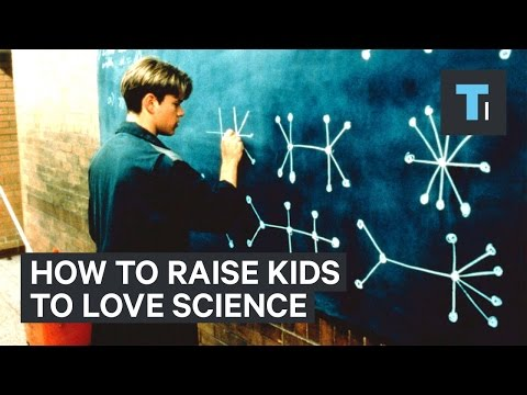 How to inspire a child's love of math and science