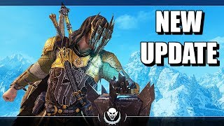 SHADOW OF WAR - NEW UPDATE UNDYING UNIQUE REINFORCE & AMBUSH OVERLORDS