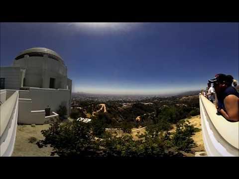 Vuze 3D 4K 360 VR Los Angeles : Griffith Observatory