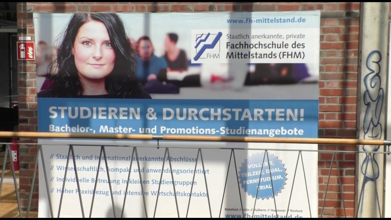 Fachhochschule des Mittelstands in Pulheim.
