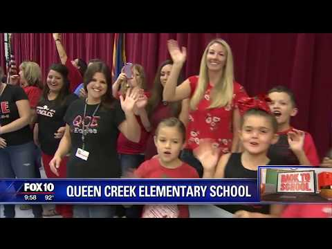 Back to school: Queen Creek Elementary School