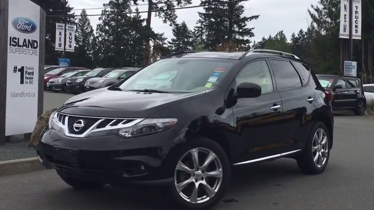 Nissan Murano Platinum Leather Navigation Moonroof Backup Camera Review Island Ford