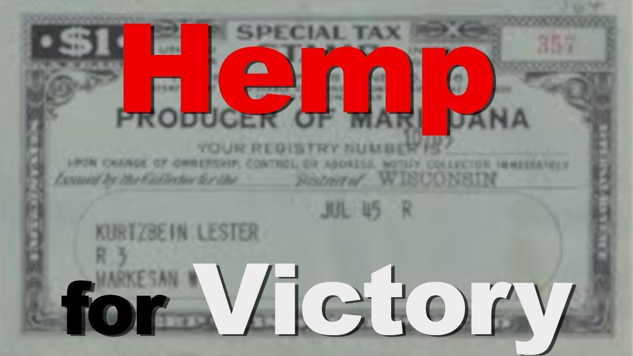 Hemp for Victory War World II film