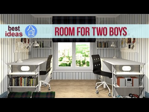 💗 Creative Shared Bedroom Ideas for a Modern Kids' Room for Two boys