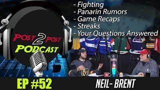 "Podcast: Ep #52 ""Fighting, Rumors, Streaks, Game Recaps + More!"""