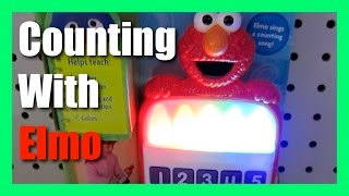 Sesame Street Toys Elmo Sings and Counts With Colored Crayons by Hasbro
