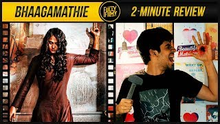 Bhaagamathie 2 Minute Review | Anushka Shetty | Fully Filmy