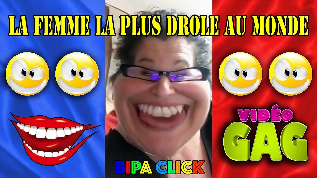 La Femme La Plus Drole Au Monde The Most Fun Woman In The World Youtube