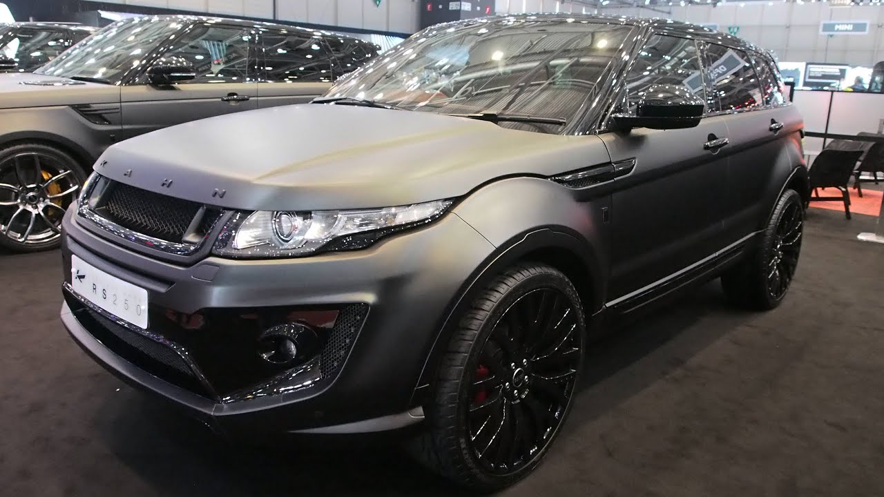2015 Kahn Rs250 by Kahn Design Range Rover Evoque Exterior