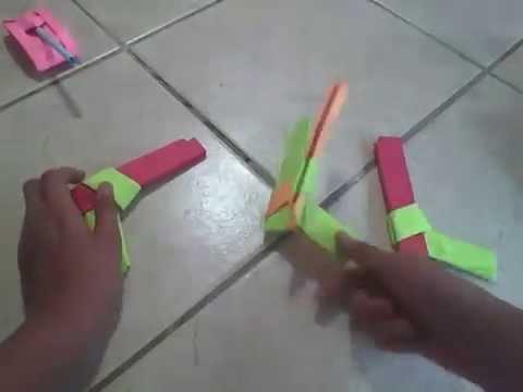 Como hacer una pistola que lanza ligas pistolas de papel - Como hacer una mosquitera ...