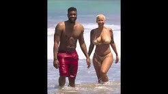 amber rose completly naked on the beach of hawaii