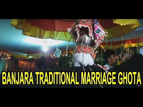 Banjara Culture Dance Ghota Program !! MLC Ramulu Naik Son Marriage !!  Hyderabad | 3TV BANJARA
