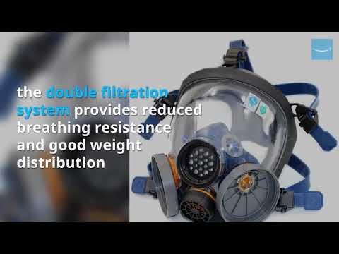 Holulo Organic Vapor Full Face  Respiratory Protection Gas Masks