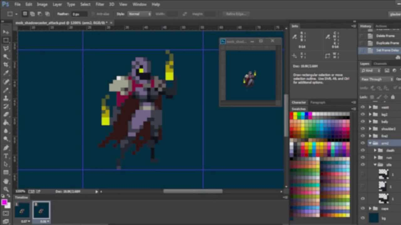 3d Wallpaper Making Software Free Download Duelyst Pixel Art Character Animation Demo Youtube