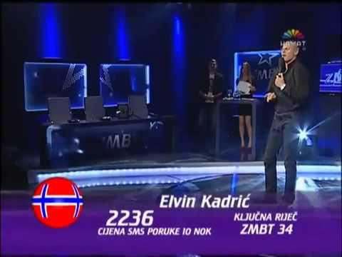 Elvin Kadrić Kadra ZMBT5 - Top 40  Mama ne da da te diram