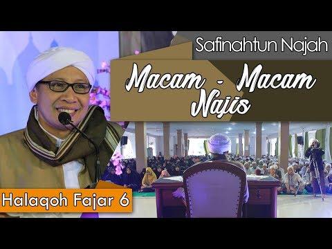 Macam - Macam Najis   Buya Yahya   Halaqoh Fajar   06 Ramadhan 1439 H / 22 Mei 2018