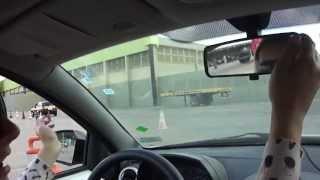 Prova prática de direção Percurso Carrefour de Belford Roxo auto escola Transformers