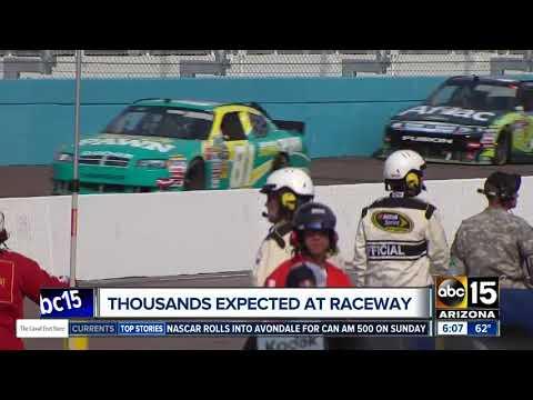 Thousands expected at Phoenix International Raceway
