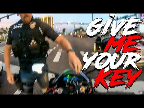 COOL & ANGRY  COPS  VS BIKERS | POLICE vs MOTORCYCLE |  [ Episode 146]