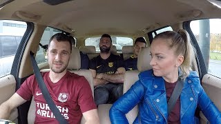 Star in the Car with FK Sarajevo & FK Zeljeznicar