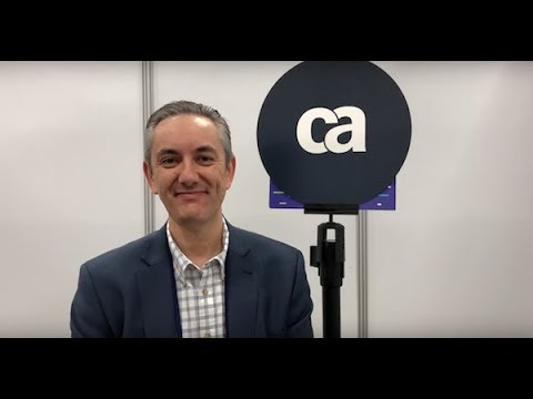 CA World 17, Ken Martin VP, Agile Management, APJ: VIDEO Interview