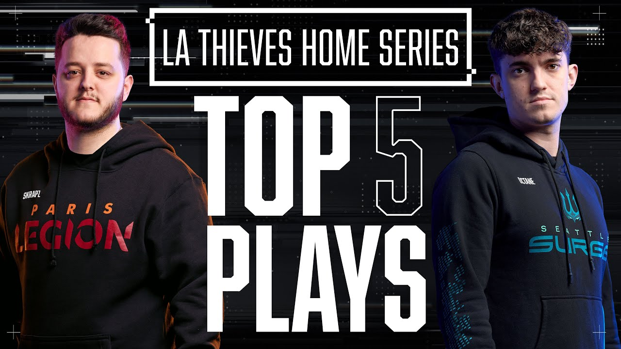 Surge FINALLY Win as Skrapz CLUTCHES Round 11 1v1?! | Top 5 Plays — LA Thieves Home Series