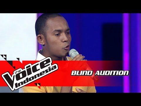 Aldo - Langit Abu-Abu | Blind Auditions | The Voice Indonesia GTV 2018
