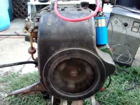 Hh120 Tecumseh Engine With Crank Trigger Ignition