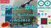 ESP32 #38: NeoPixel (WS2812b) Library Contest + ESP32