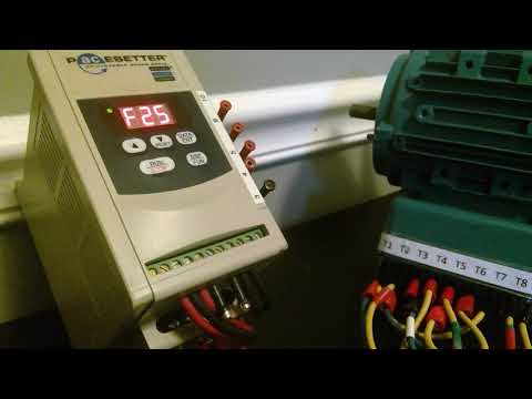 Resetting a Pacesetter 2701/TECO FM50 Drive to default