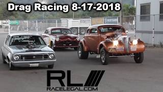 Drag Racing Racelegal com 8-17-2018