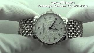 видео Frederique Constant - каталог часов