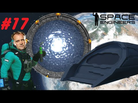 Space Engineers #17: Making The Puddle Jumper!!!!