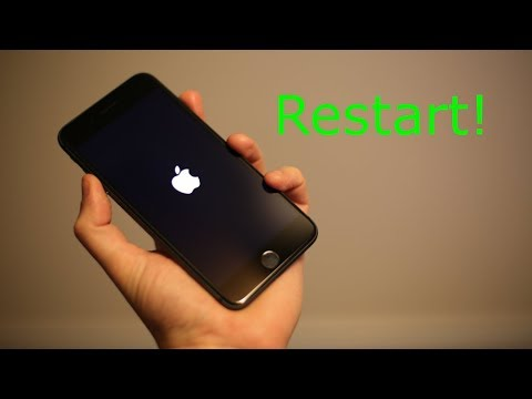 force iphone restart iphone 8 8 plus how to restart 10632
