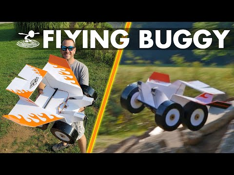 Building & Flying an RC BUGGY!!