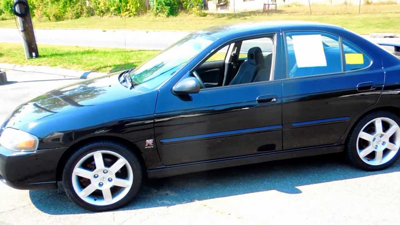 2005 nissan sentra se r spec v sedan 4dr 2 5l 4cyl 6spd moonroof youtube. Black Bedroom Furniture Sets. Home Design Ideas
