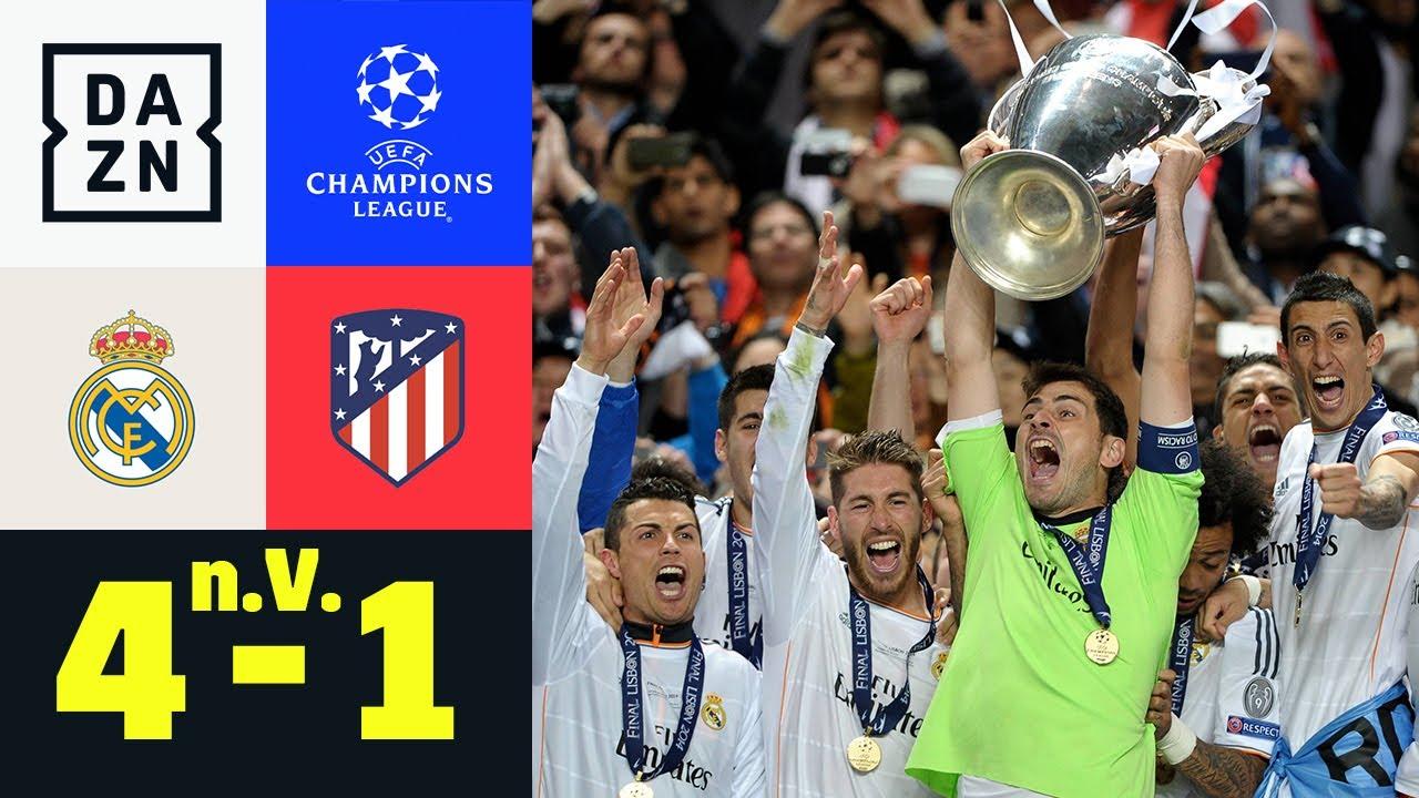 Real dreht spät auf & holt La Decima: Real Madrid - Atletico 4:1 n.V. | UEFA Champions League | DAZN
