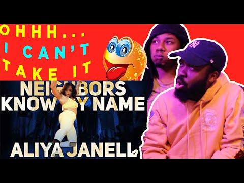 Neighbors Know My Name | Aliya Janell Choreography | REACTION