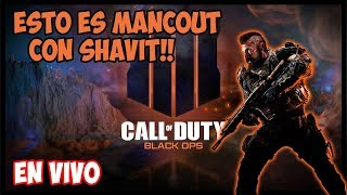 COD4 BLACKOUT: Bienvenidos a Mancout Con El Shavit - Diviertete Viendo a Este Pro Manco PS4 Esp.