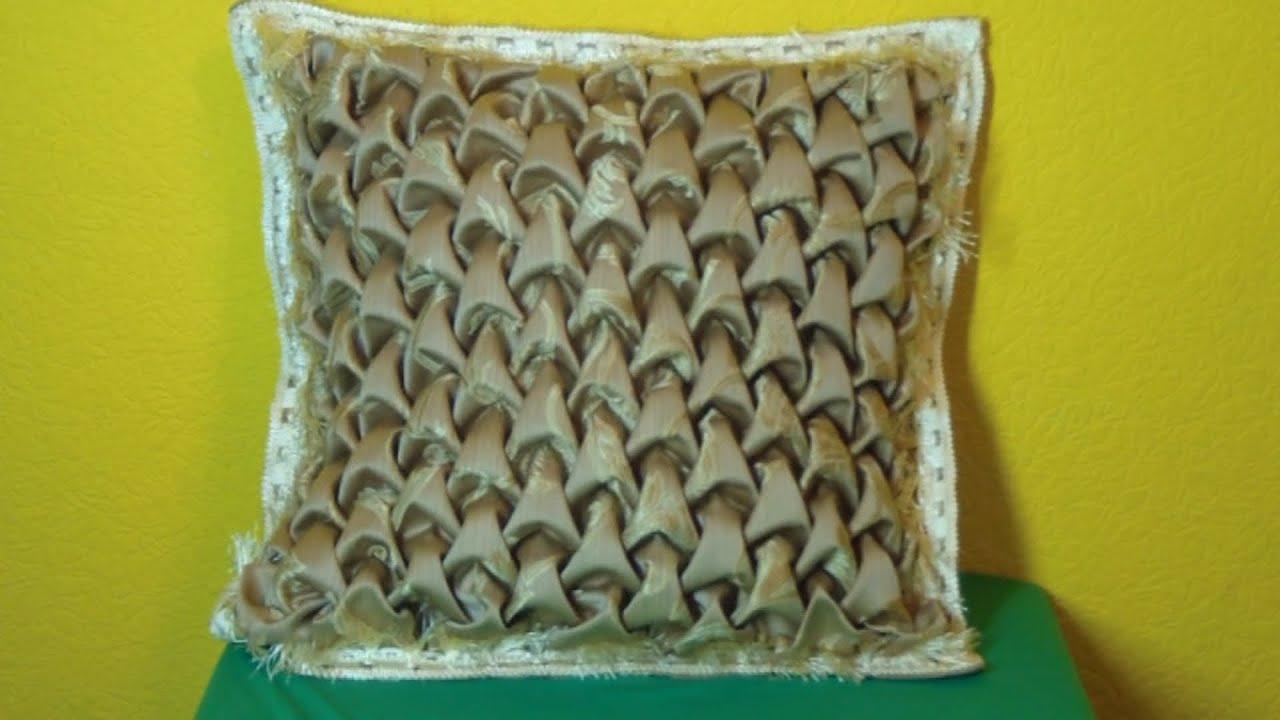 декоративная подушка своими руками буфы схемы