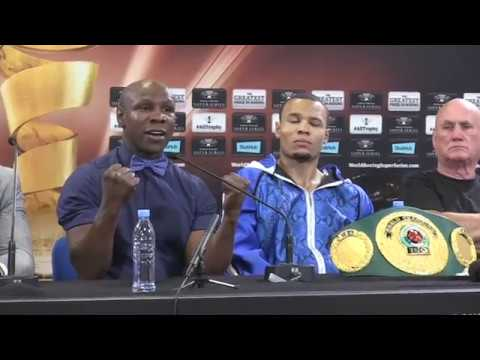 CHRIS EUBANK JR v AVNI YILDIRIM - *FULL & UNCUT* - POST FIGH