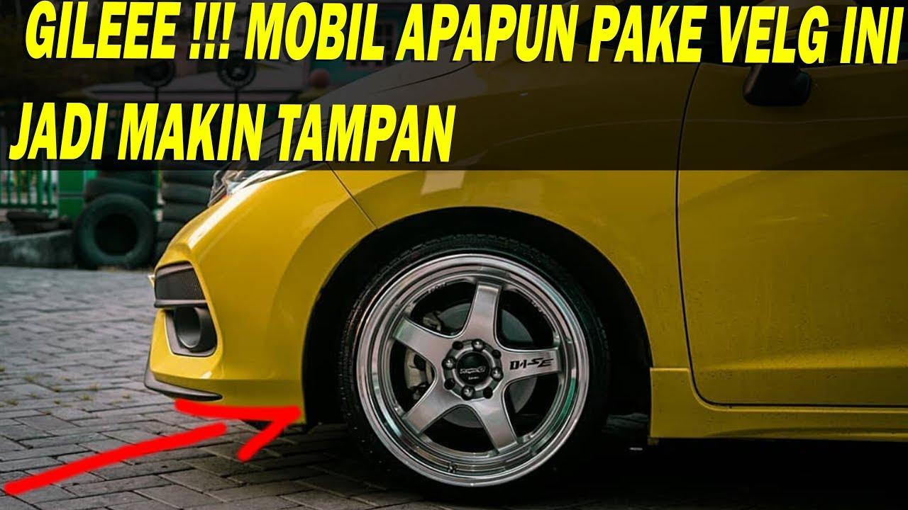 Ganti Velg Honda Jazz 2018 Warna Kuning Pake Lenso Project D1 Se R17 Mantab Abis Youtube