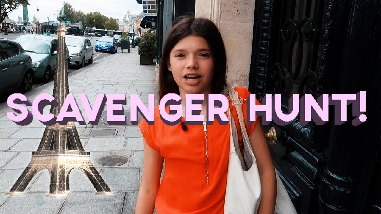 Paris Scavenger Hunt Challenge