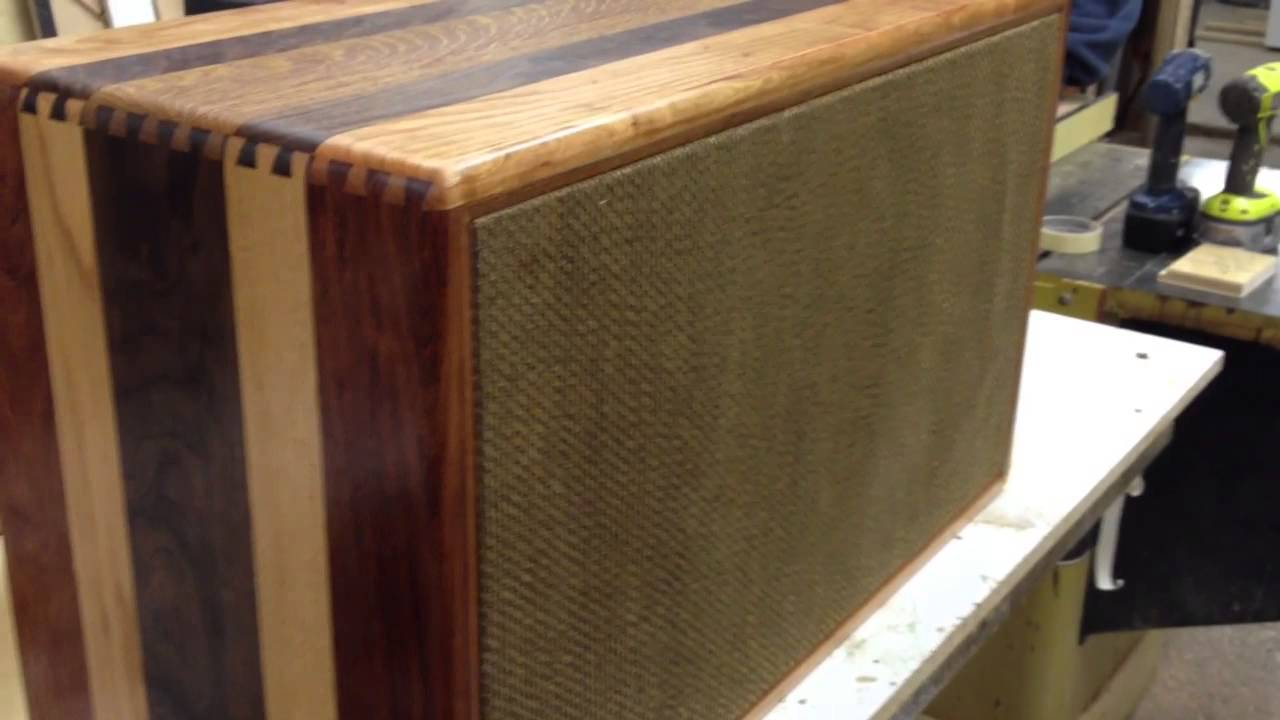 solid hardwood custom 2 12 speaker cabinet w mesa subway r youtube. Black Bedroom Furniture Sets. Home Design Ideas