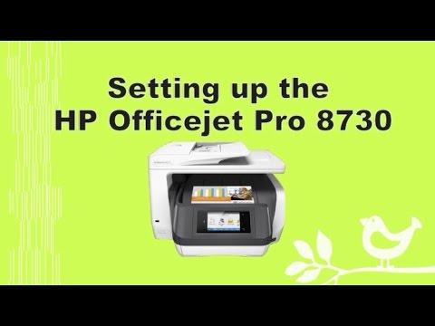 Hp Officejet Pro 8710 8720 8730 8740 Printer Setup