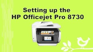 hp officejet pro 8710 8720 8730 8740 printer setup and connection part 1