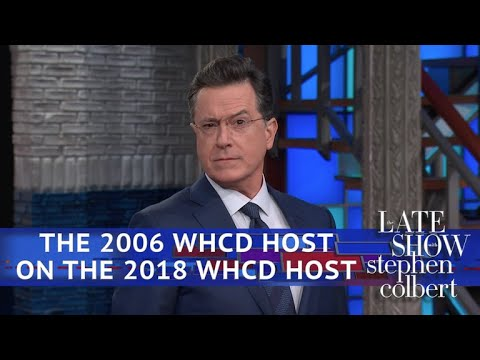 Stephen Colbert The Other One On Michelle Wolf's WHCD Speech